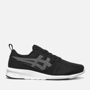 Asics Men's Lyte Jogger Mesh Trainers - Black/Carbon