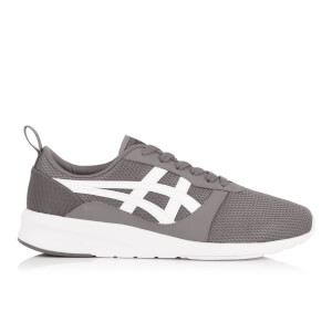 Asics Men's Lyte Jogger Mesh Trainers - Carbon/White