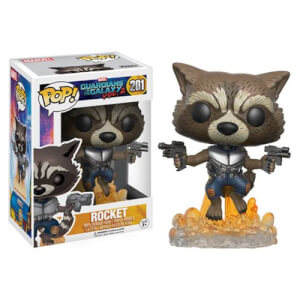 Guardiani Della Galassia Vol. 2 - Rocket Raccoon Figura Pop! Vinyl