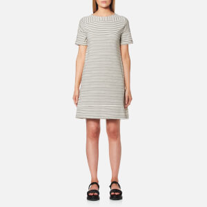 A.P.C. Women's Mauricia Dress - Black/White
