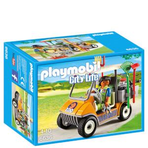 Soigneur animalier avec véhicule -Playmobil (6636)