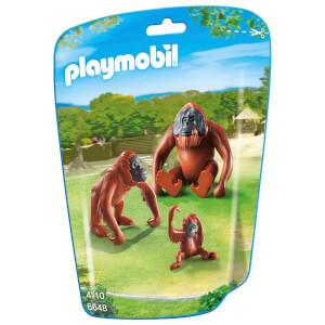 Playmobil 2 orang utans mit baby (6648)