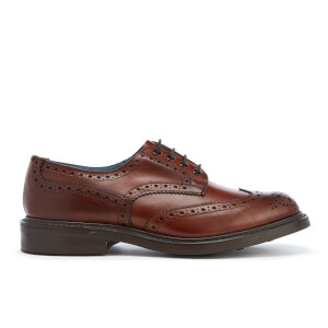 Knutsford by Tricker's Men's Bourton Leather Brogues - Chestnut Burnished