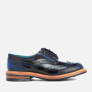Knutsford by Tricker's Men's Bourton Leather Brogues - Black/Blue