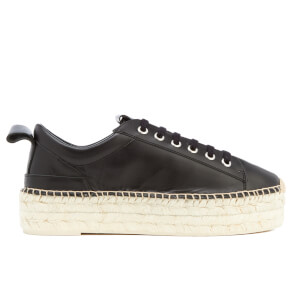 McQ Alexander McQueen Women's Sade Runner Leather Trainers - Black