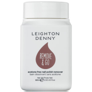 Leighton Denny Remove and Go Polish Remover - Cherry Blossom 60ml