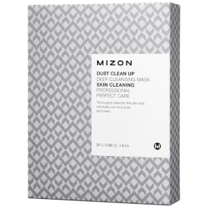 Mizon Dust Clean Up Deep Cleansing Mask Set 8 x 25g