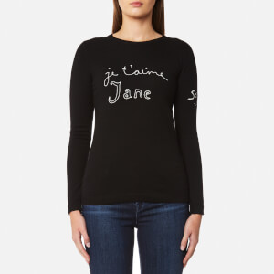 Bella Freud Women's Je T'aime Jane Jumper - Black