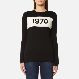Bella Freud Women's 1970 Jumper Wool Jumper - Black