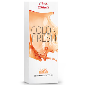 Wella Color Fresh Dark Red Mahogony Blonde 6/45 75ml