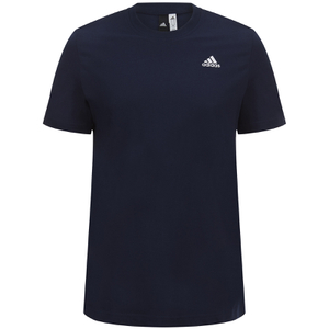 adidas Men's Essential Logo T-Shirt - Navy