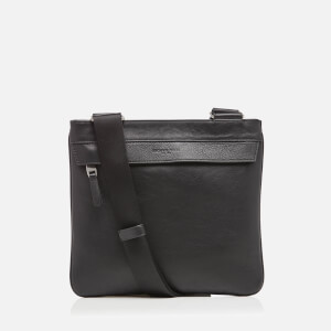 Michael Kors Men's Mid Flat Cross Body Bag - Black