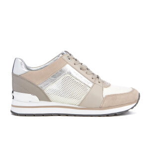 MICHAEL MICHAEL KORS Women's Billie Runner Trainers - Cement