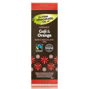 The Raw Chocolate Company Organic Goji & Orange Bar