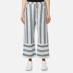 House of Sunny Women's Stripe Fit and Flare Culottes - Essential Stripe