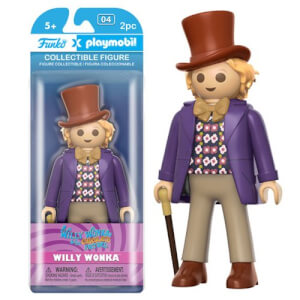 Funko x Playmobil: Willy Wonka - Willy Wonka Action Figur