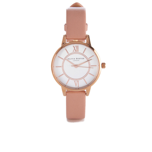 Olivia Burton Women's Wonderland Dusty Pink Mix Watch - Rose Gold/Pink