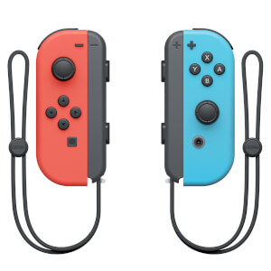 Nintendo Joy-Con Pair Neon Red/Blue