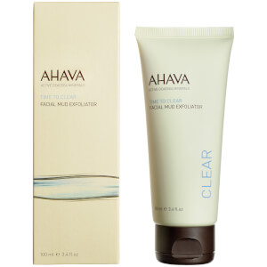 AHAVA Facial Mud Exfoliator 3.4oz