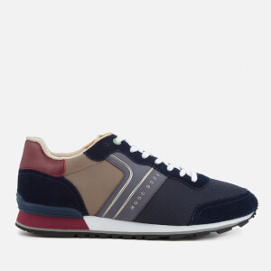 BOSS Green Men's Parkour Runn Trainers - Dark Blue