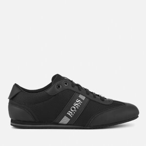 BOSS Men's Lighter Low Profile Trainers - Black