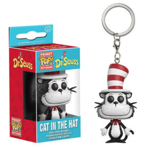 Porte-Clés Pocket Pop! Le Chat Chapeauté Dr. Seuss