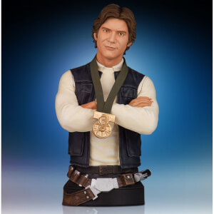 Star Wars Han Solo Hero of Yavin Bust