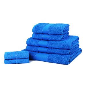 Restmor 100% Cotton 7 Piece Towel Bale (450GSM) - Teal