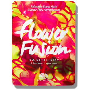 Origins Flower Fusion™ Hydrating Sheet Mask – Raspberry