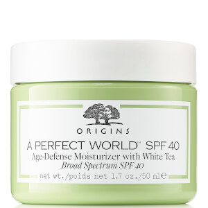 Origins A Perfect World™ SPF40 Age-Defense Moisturiser with White Tea 50ml