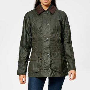 4fc73d71dfa6 Barbour Women s Beadnell Wax Jacket - Olive