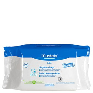 Mustela Facial Cleansing Cloths Pack of 25