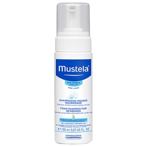 Mustela Foam Shampoo for Newborns 5.1 oz.