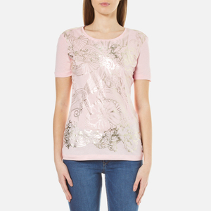 Versace Jeans Women's Printed T-Shirt - Candy