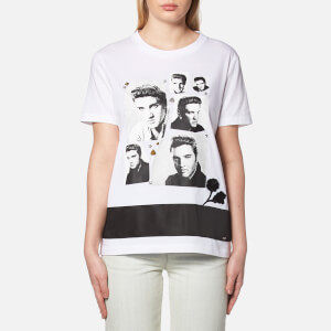 Coach Women's Elvis Collage T-Shirt - White