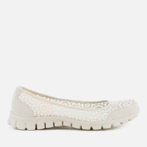 Skechers Women's EZ Flex 2 Flighty Shoes - Natural