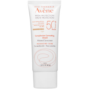 Avène High Protection Complexion Correcting Shield SPF 50+ 1.35 fl.oz. - Light