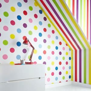 Superfresco Easy Kids' Brights Stripe Wallpaper