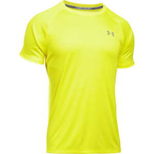 Under Armour Men's Speed Stride Run T-Shirt - Yellow Ray