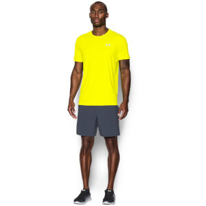 Under Armour Men's CoolSwitch Run T-Shirt - Yellow Ray