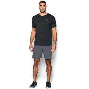 Under Armour Men's Raid Jacquard T-Shirt - Black/Graphite