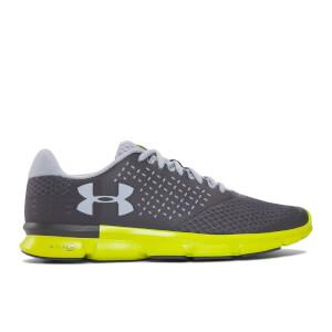 Under Armour Men's Micro G Speed Swift 2 Running Shoes - Rhino Grey/Smash Yellow