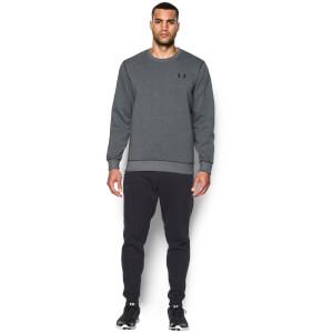 Under Armour Men's Storm Rival Cotton Crew Sweatshirt - Black