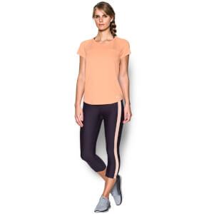 Under Armour Women's Fly By Run T-Shirt - Playful Peach
