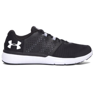 Under Armour Men's Micro G Fuel Running Shoes - Black/White
