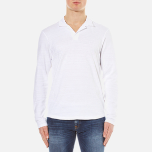 Orlebar Brown Men's Massey Long Sleeve Slub Top - White