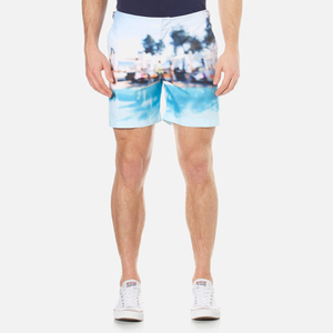 Orlebar Brown Men's Bulldog Photographic Swim Shorts - Pool Party