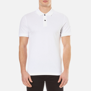 Belstaff Men's Granard Short Sleeve Polo Shirt - White