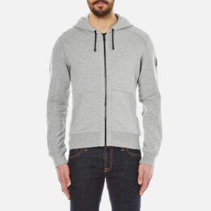 Belstaff Men's Fleming Zipped Sweat Hoody - Grey Melange