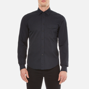 Belstaff Men's Steadway Long Sleeve Shirt - Navy Blue